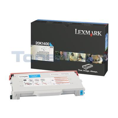 LEXMARK C510 TONER CART CYAN 6.6K